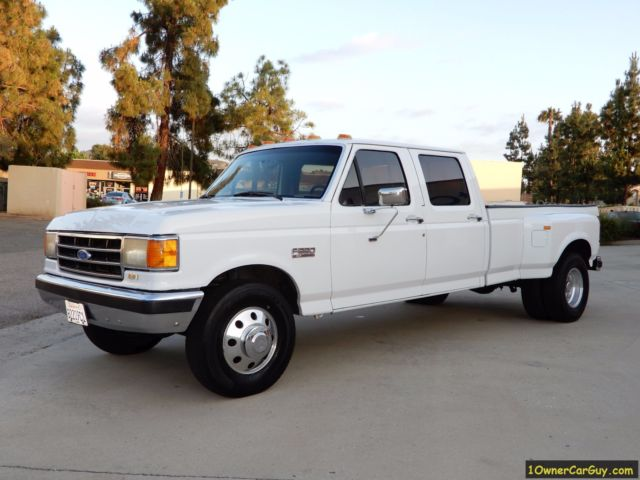 1990 Ford F-350 Crew Cab Dually XLT Lariat