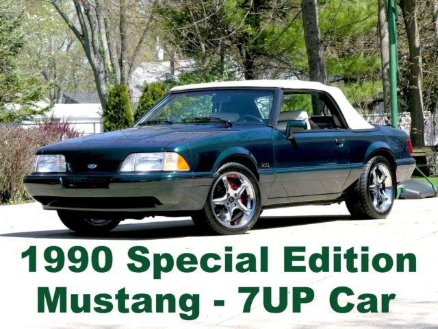 1990 Ford Mustang Rare - Limited Edition 7UP
