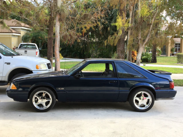 Used Cars West Palm Beach >> 1990 Ford Mustang LX 5.0, 5 speed, V8 title, Fresh Paint ...