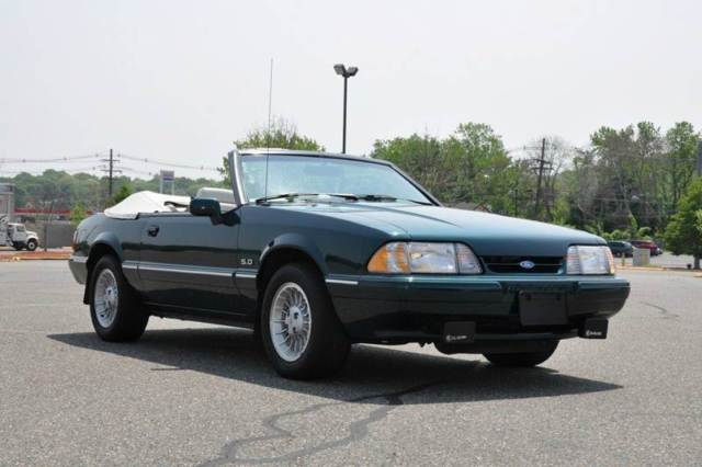 1990 Ford Mustang LX Conv.RARE 7 Up Edition 5.0L5 Spd 31K All Orig.