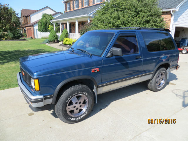 1990 GMC Jimmy S-10 S10 Blazer