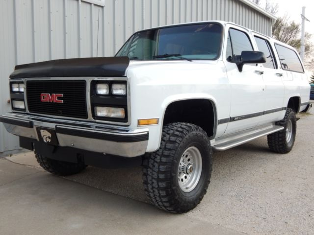 X4 Truck For Sale >> 1990 GMC Suburban, Fuel Injected 350 V-8, Lifted, Rust Free Truck for sale: photos, technical ...