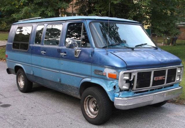 Dodge Conversion Van >> 1990 GMC VANDURA CONVERSION VAN RUNS GREAT CAPTAINS CHAIRS, COUCH/BED, TV etc for sale: photos ...