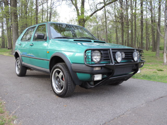 1990 Volkswagen Golf Country 4WD SYNCRO