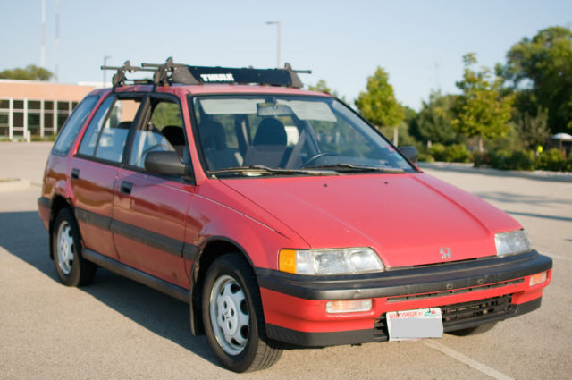 1990 Honda Civic Wagon Rt4wd For Sale Photos Technical