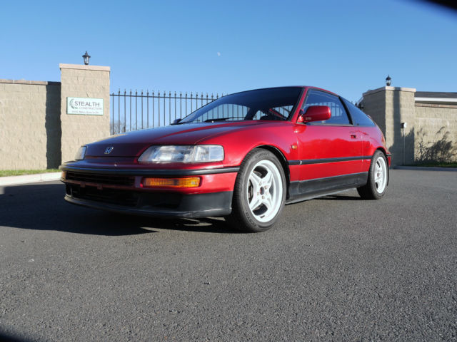 1990 honda cr x ef8 sir dohc vtec si r crx glass top rhd. Black Bedroom Furniture Sets. Home Design Ideas