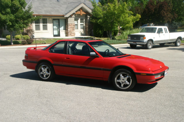 1990 Honda Prelude Si 4ws Coupe 2 Door 21l For Sale Photos