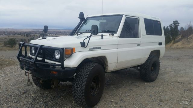 1990 Toyota Land Cruiser 70 Series