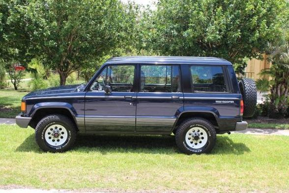 1990 Isuzu Trooper Ii For Sale Photos Technical Specifications