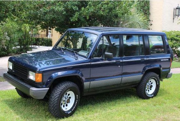 1990 isuzu trooper ii for sale photos technical specifications description. Black Bedroom Furniture Sets. Home Design Ideas