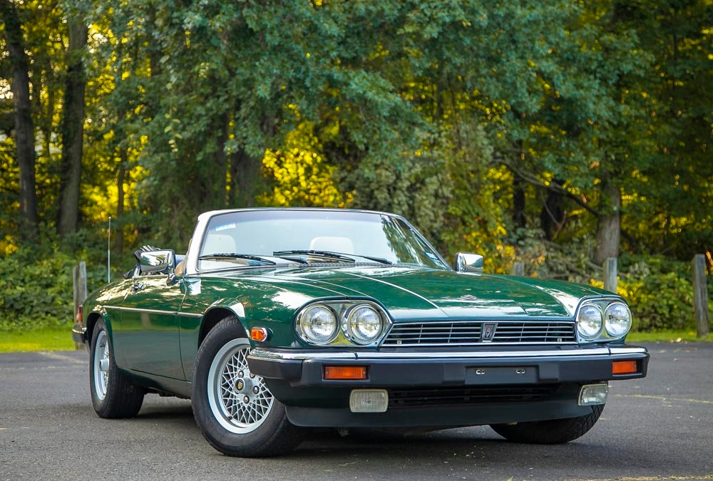 1990 Jaguar XJS V12 5.3L Super Low 41K mi Texas CARFAX Convertible!