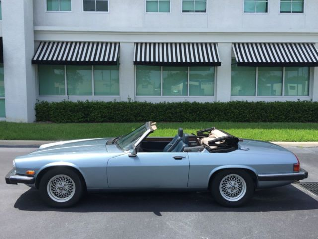 1990 Jaguar XJS V12 Convertible