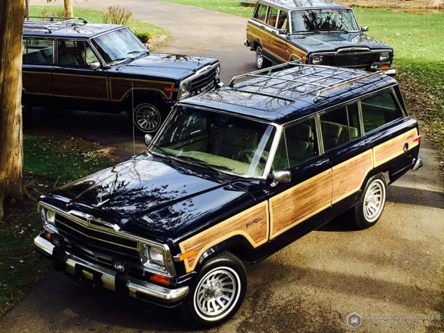 1990 Jeep Wagoneer Grand Wagoneer by Classic Gentleman