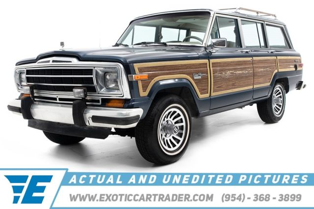 1990 Jeep Wagoneer Limited Edition