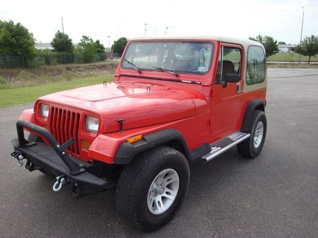 1990 Jeep Wrangler Rubicon Appearance Package Hardtop 4x4 Manual