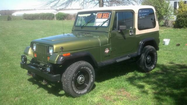 1990 jeep wrangler auto trans conversion for sale photos technical specifications. Black Bedroom Furniture Sets. Home Design Ideas