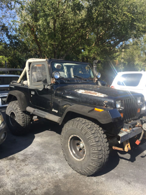 1990 jeep wrangler base sport 4 2l for sale photos technical. Cars Review. Best American Auto & Cars Review