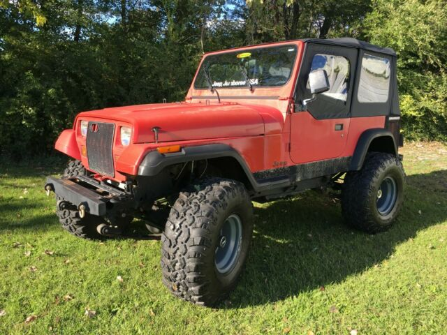 1990 Jeep Wrangler YJ AMC 360 V8 Build for sale: photos