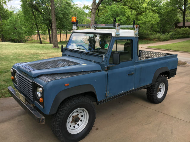 1990 land rover defender 110 pick up sweet for sale photos technical specifications description. Black Bedroom Furniture Sets. Home Design Ideas