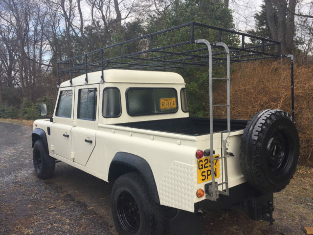1990 Land Rover Defender 130 4 Door Crew Cab for sale: photos ...