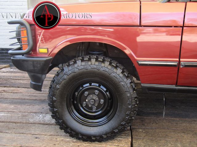 1990 Land Rover Range Rover COUNTY V8 LIFTED for sale