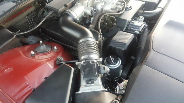 1990 Lexus Ls400 4 Door V8 Burgundy Exterior Amp Rare Cloth