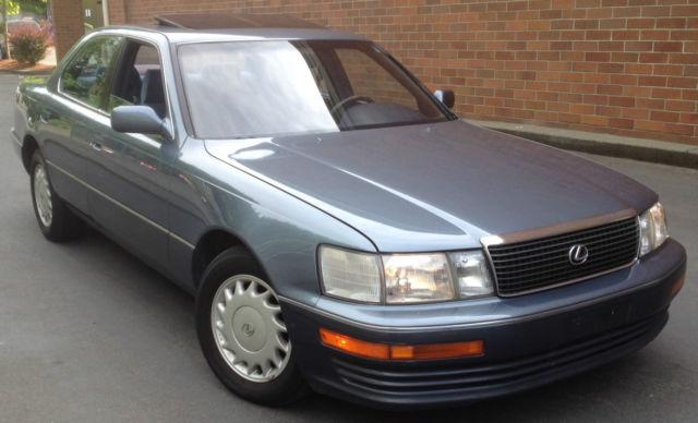 1990 Lexus Ls400 Base Sedan 4 Door 4 0l Auto Ls 400 Very