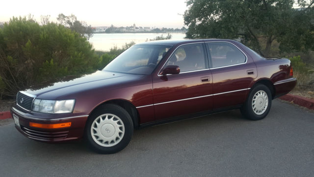 1990 lexus ls400 great condition rare interior only 51k. Black Bedroom Furniture Sets. Home Design Ideas