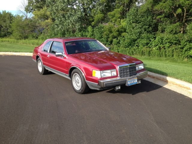 1990 Lincoln Mark Series LSC