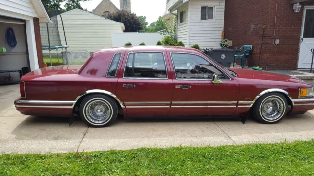 1990 Lincoln Town Car Lowrider Clean For Sale Photos Technical