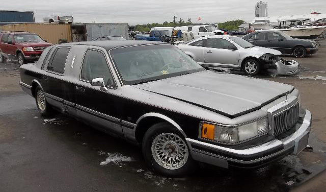 1990 Lincoln Town Car Personal Limousine Very Rare For Sale