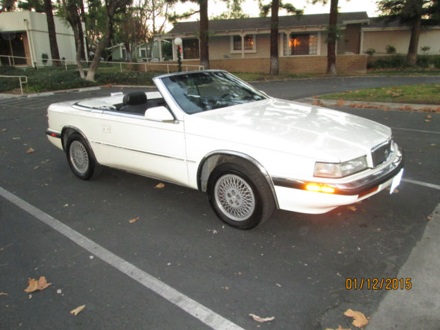 1990 Chrysler Other TC