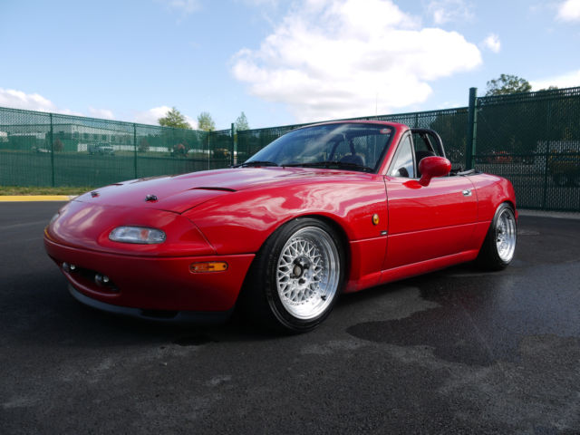 1990 mazda miata eunos roadster rhd car jdm imported na b6. Black Bedroom Furniture Sets. Home Design Ideas