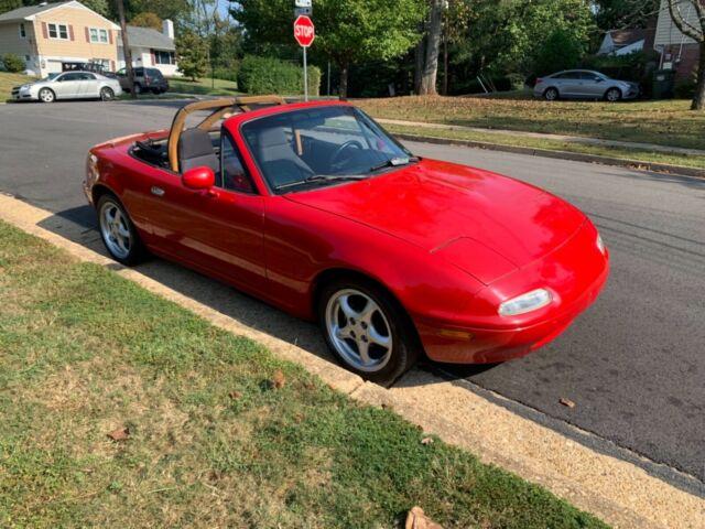 1990 Mazda Miata Mx 5 Convertible 146k Miles Clean No
