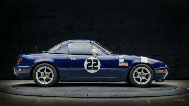 Mazda Miata Spec Miata Race Car Full Race Package With Trailer