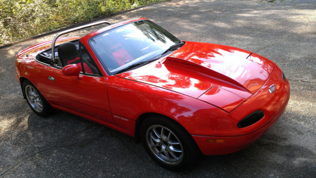 1990 mazda mx 5 miata chevrolet 4 3l v6 engine swap for sale photos technical specifications. Black Bedroom Furniture Sets. Home Design Ideas