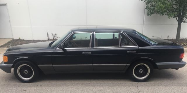 1990 Mercedes-Benz 500-Series