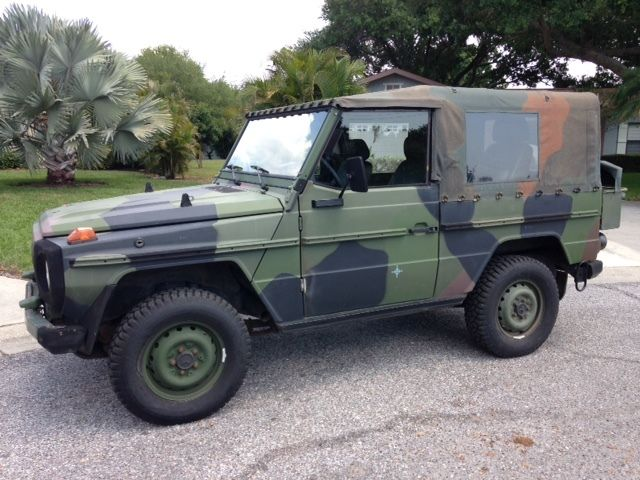 1990 mercedes benz 250gd wolf 2 5l diesel bundeswehr military g wagon w461 for sale. Black Bedroom Furniture Sets. Home Design Ideas