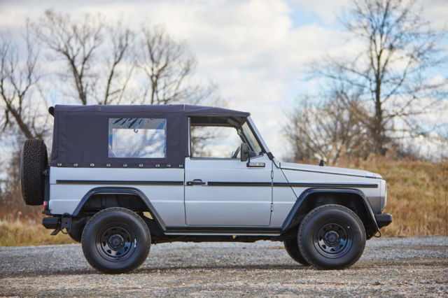 1990 Mercedes-Benz G-Class 2 Door Convertible Cabrio with Soft Top