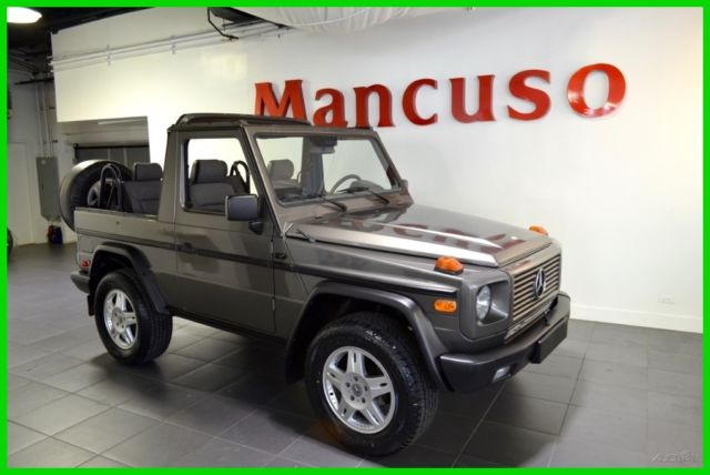 1990 mercedes benz 300ge cabriolet auto g wagon for Mercedes benz g class cabriolet