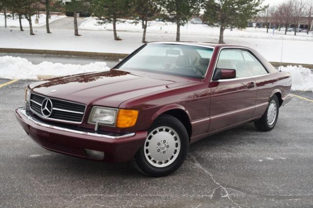 1990 Mercedes-Benz 500-Series NICEST 560SEC COUPE ANYWHERE ONLY 1 OWNER MUST SEE