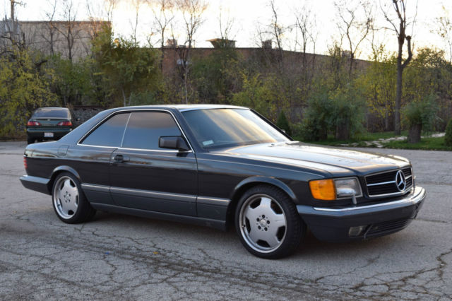 1990 Mercedes Benz 560sec Salvage Rebuilt For Sale Photos