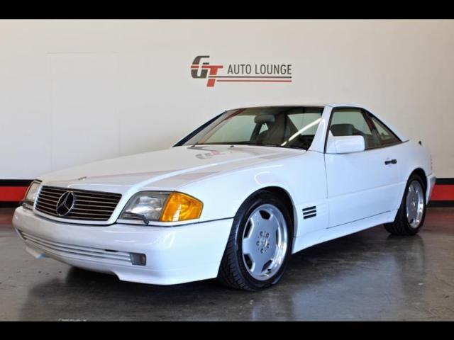 1990 mercedes benz sl500 convertible 1 owner hardtop. Black Bedroom Furniture Sets. Home Design Ideas