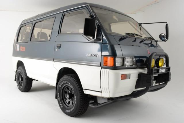 1990 Mitsubishi Delica 4WD Turbo Diesel Exceed !!!
