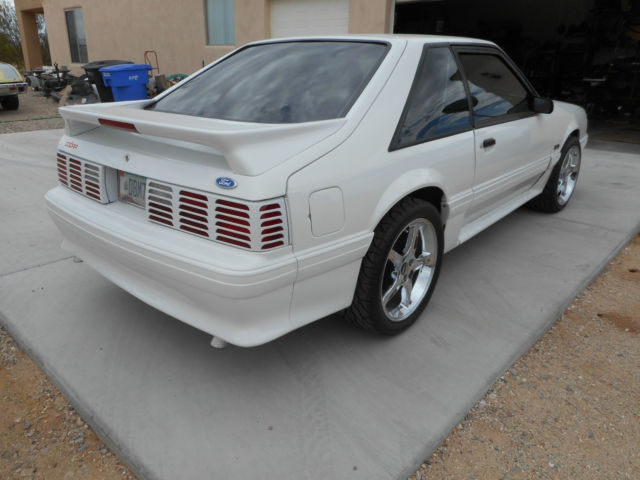1990 Ford Mustang GT 25th anniversary edition