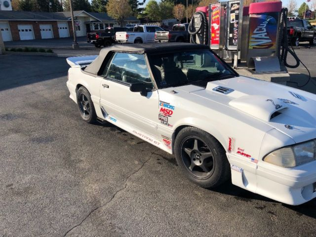 1990 mustang gt 5 0 351w turbo swap for sale: photos