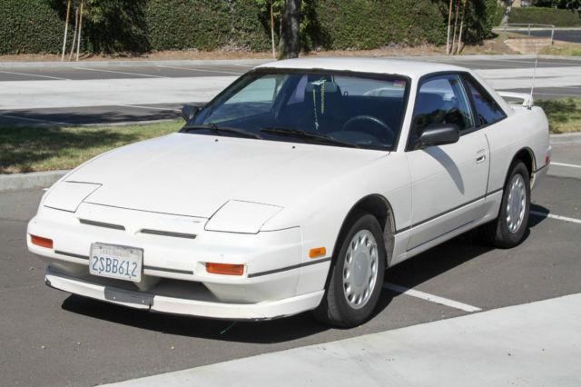 1990 Nissan 240SX XE 2D Coupe