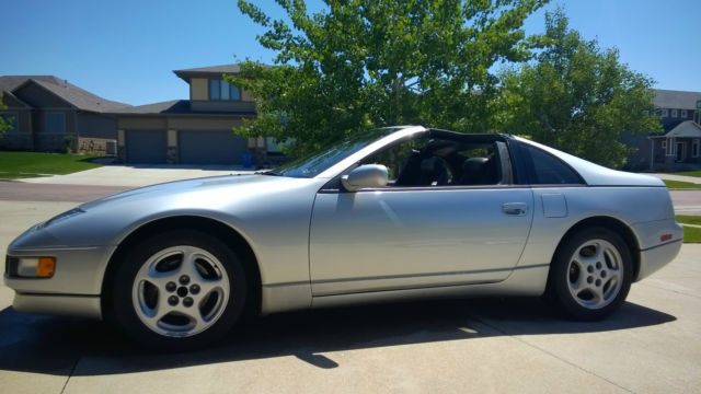 1990 nissan 300zx na 2 seater silver no reserve for. Black Bedroom Furniture Sets. Home Design Ideas