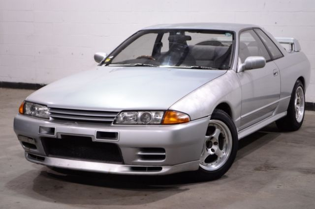 1990 Nissan Skyline 84,506 Miles Silver coupe RB26 5 speed