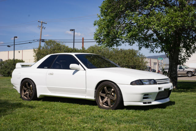 1990 nissan skyline r32 bnr32 gt r t78 rays volk racing te37 for sale photos technical. Black Bedroom Furniture Sets. Home Design Ideas